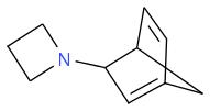 C1CCN1C2C3C=CC(C3)=C2