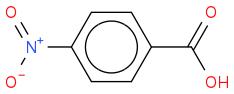 O=[N+]([O-])c1ccc(C(=O)O)cc1