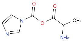 O=C(OC(N1C=CN=C1)=O)C(N)C