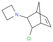 ClC1C(N2CCC2)C3CC1C=C3