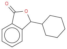 O=C2OC(C1CCCCC1)c3ccccc23