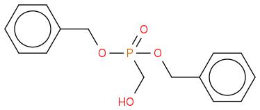P(=O)(CO)(OCc1ccccc1)(OCc1ccccc1)