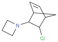 C1CCN1C2C3C=CC(C3)C2Cl